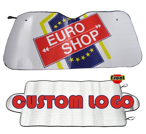 Universal Front Advertising Car Windshield Cover Custom