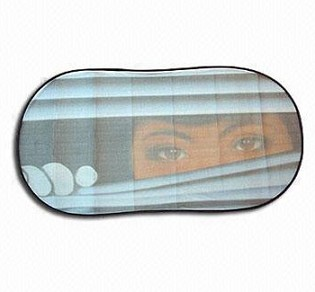 Fashion design car rear nylon sunshade wholesale