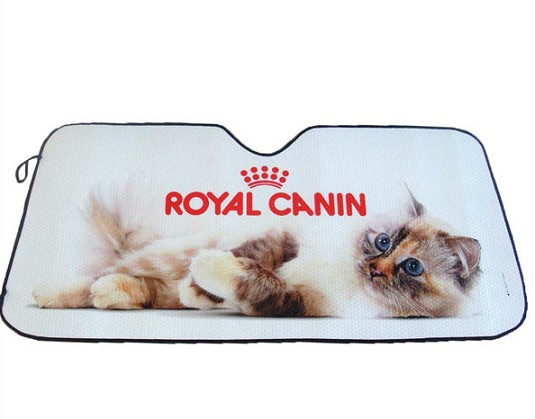 Foldable PE foam customized printing logo Car front sunshade
