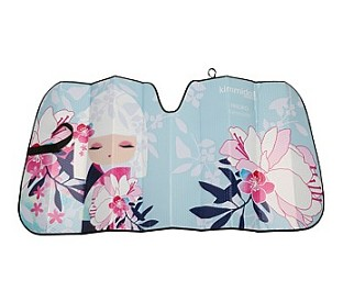 Full Color Printing Front Rear Side Car Windshield Sunshade